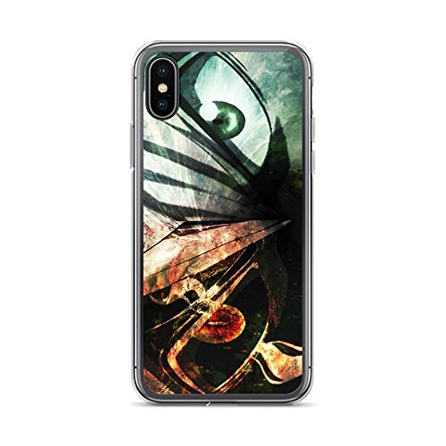 iPhone X/XS Case Anti-Scratch Japanese Comic Transparent Cases Cover Evil Anti Mage Anime & Manga Graphic Novels Crystal Clear