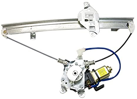 IPCW WR-MI2117RM2 Rear Right Side//Passenger Side Replacement Power Window Regulator with Motor