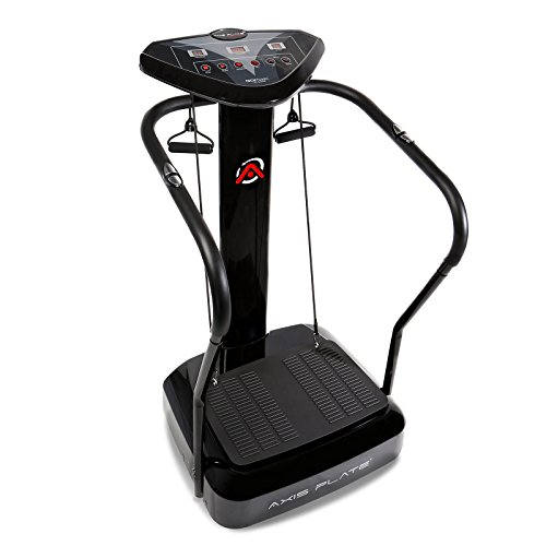 Axis-Plate Whole Body Vibration Platform Training and Exercise Fitness Machine