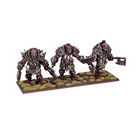 Amazon.com: Ogre Berserker Braves by Mantic Games: Toys & Games