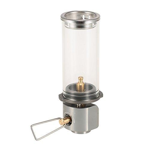 Lixada Lamp Light Butane Gas Light Lantern Outdoor Use Only for Camping Picnic Self-driving by Lixada