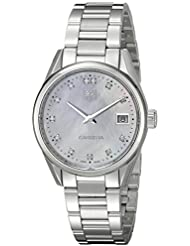 TAG Heuer Womens WAR1314.BA0778 Analog Display Swiss Silver Watch