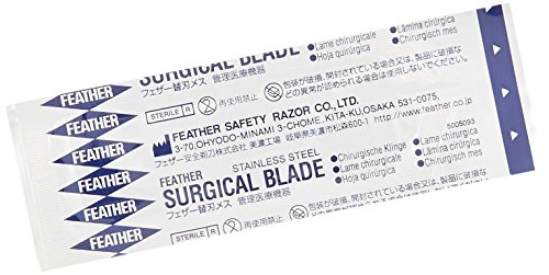 Surgical Bottom Blade - GF Health 2976#15 GF Health Sterile Surgical Blade, #15 (Pack of 100)