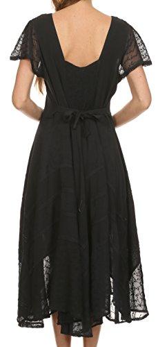 Fairy Dress Ricamato Marigold Nero Sakkas zwRPn1Cxq
