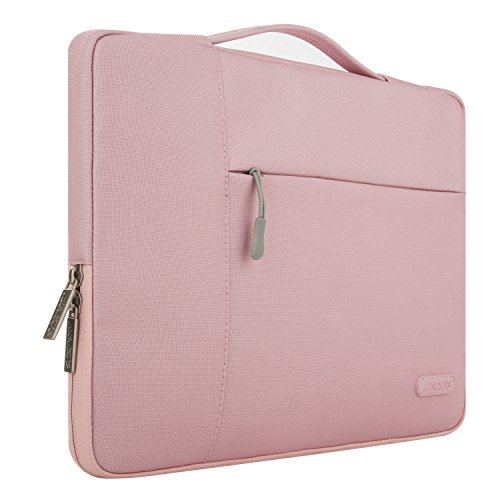 Mosiso Polyester Fabric Multifunctional Sleeve Briefcase Handbag Case Cover For 12.9-13.3 Inch Lapto