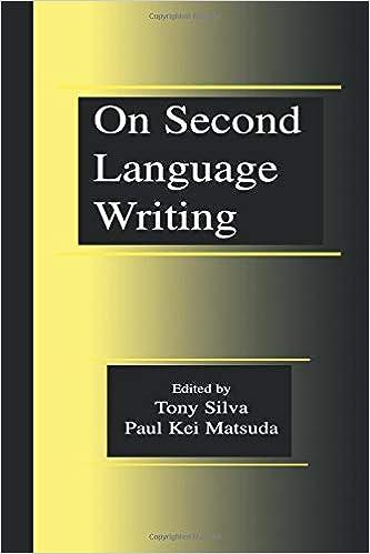 On Second Language Writing