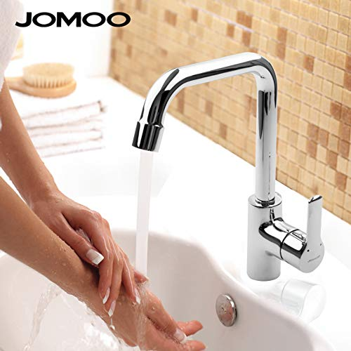 Hlluya Professional Sink Mixer Tap Kitchen Faucet Hot and cold water faucet basin faucet basin wash basin with high redation single hole faucet full brass valve body
