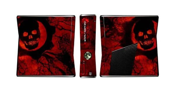 Gears of War 3 Limited Edition Console Skin for Xbox 360 Slim by Skinhub: Amazon.es: Videojuegos