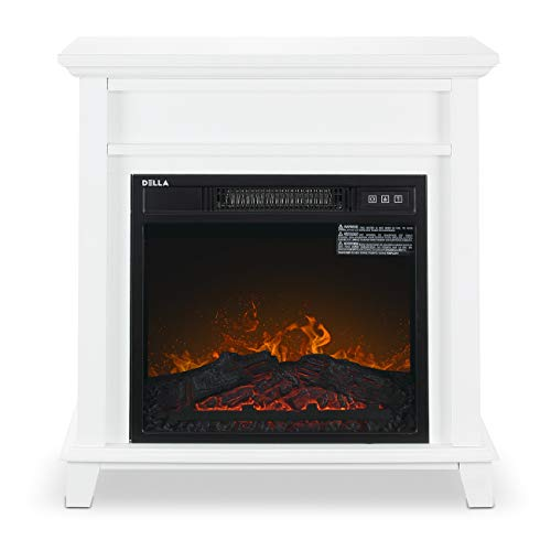 Buy small white electric fireplace