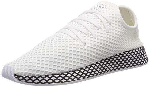 Les Hommes Adidas Deerupt Coureur Chaussures De Sport, Bianco, Blanc (ftwr / Ftwr Noyau Noir)