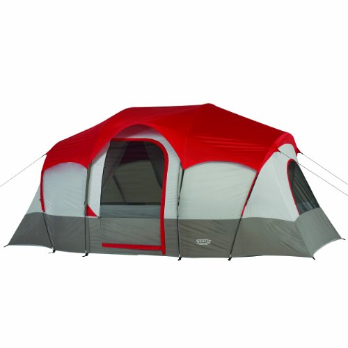 Wenzel Blue Ridge Tent, Red, 7 Person ()