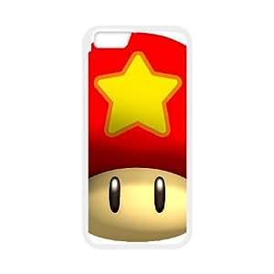 Super Mario Bros 009 funda iPhone 6 4.7 Inch Cubierta blanca del teléfono celular de la cubierta del caso funda EVAXLKNBC19819