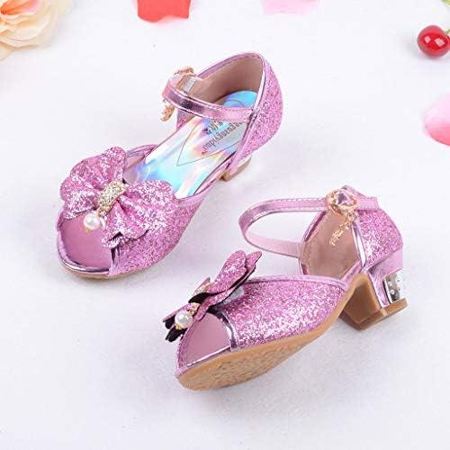LANSKIRT Zapato de Princesa de Lentejuelas Calzado de Cristal Perla para Ni/ña ni/ño Patucos Bebe Primeros Pasos con Estilo Pantuflas Bebe ni/ña Verano Sandalias Zapatillas Zapatos ni/ña