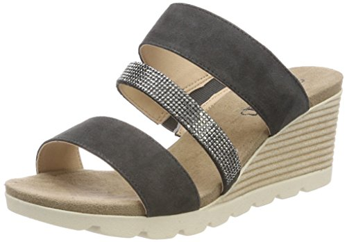 Gris Suede Para Mules 256 Mujer 27207 Caprice anth 8xqYRIng