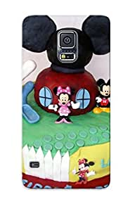 DrHaoow2294naCWe Letteredor These Were Mickey Mouse Clubhouse Cupcake Mash Cake For The Twins Feeling Galaxy S5 On Your Style Birthday Gift Cover Case