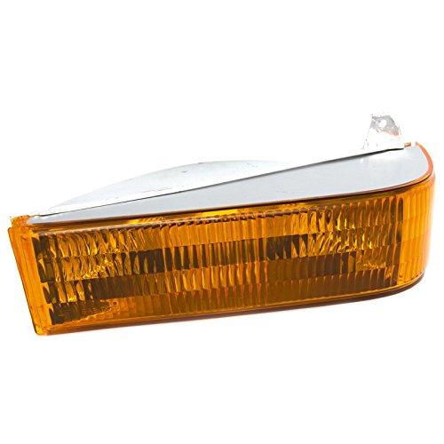 CarPartsDepot Fit 1991-1994 Ford Explorer Front Facial Parking Light Lamp Driver FO2520109