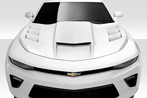 Duraflex ED-NMW-781 TS-1 Hood - 1 Piece Body Kit - Compatible For Chevrolet Camaro 2016-2018