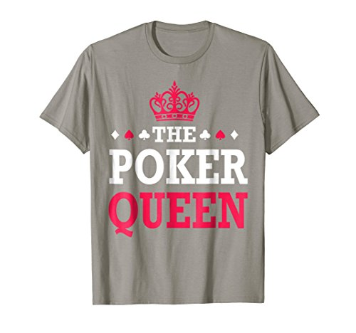 Funny Poker Shirt - The Poker Queen - Funny Poker ()
