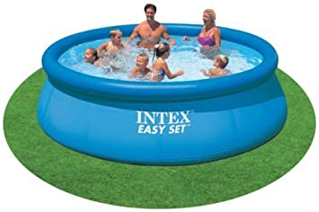 Superb Easy Pool, Intex, Mit Aufblasbarem Rand, 366 Cm * 76 Cm, Ohne