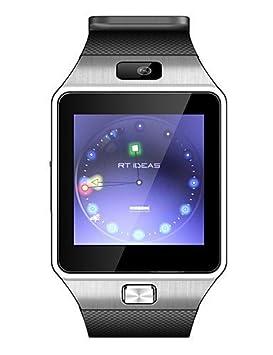 DZ09 Wearables reloj inteligente, Bluetooth3.0/llamadas manos libres/medios
