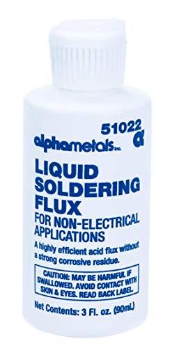 (ALPHA METALS AM51022 Acid LIQ Flux, 3)