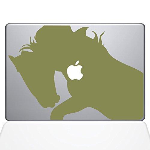 【開店記念セール!】 The 0156-MAC-15P-G Decal Guru Horse 0156-MAC-15P-G War (2015 Horse Vinyl Sticker 15 Macbook Pro (2015 & older) Gold [並行輸入品] B0788GJ4Q6, 激安!家電のタンタンショップ:da162def --- a0267596.xsph.ru