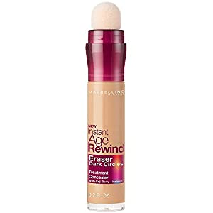 Maybelline Instant Age Rewind Eraser Dark Circles Treatment Concealer, Sand, 0.2 fl. oz.