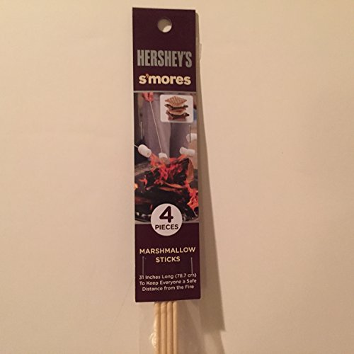 Hershey's S'mores marshmallow sticks (4 pieces) Hershey Marshmallow
