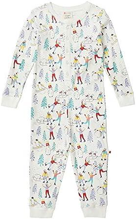 Piccalilly Mono de Navidad para niños, suave algodón orgánico ...