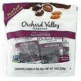 Orchard Valley Harvest Dark Chocolate almonds 8oz(1ozx8)