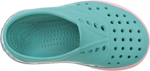 Image of Native Kids Miller Water Proof Shoes, pool blue/princess pink, 13 Medium US Little Kid