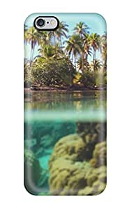 Tpu Shockproof/dirt-proof Bora Bora Cover Case For Iphone(6 Plus)