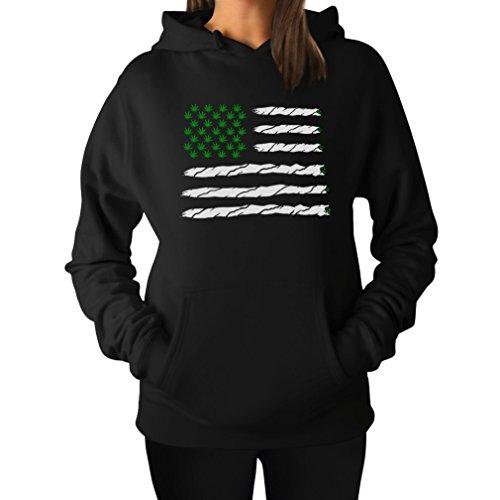 Weed Best Funny American Hoodie product image