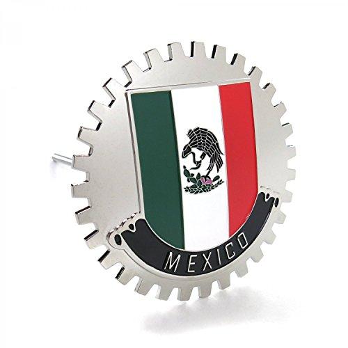 AutoLoc Power Accessories 565405 UltraEmblem Mexico Grill Emblem Badge -