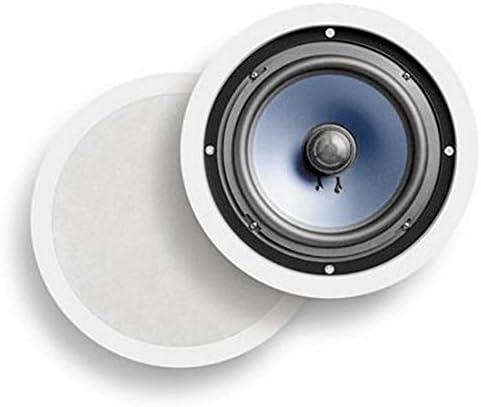 Polk Audio RC80i 2-Way In-Ceiling スピーカー (ペア, White) 【並行輸入品】