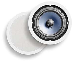 Polk Audio RC80i 100W Negro, Color blanco altavoz - Altavoces (Alámbrico, 100 W, 35 - 20000 Hz, 8 Ω, Negro, Blanco)