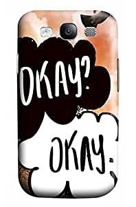 Online Designs Meet the bridge fault in our stars PC Hard new case for samsung galaxy s3 for men
