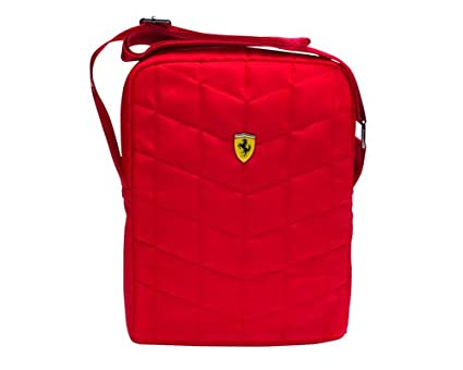 Ferrari Unisex Polyester Red Sling Bag (11 x 8 x 1 Inch)  Ferrari   Amazon.in  Bags b18abffb91886