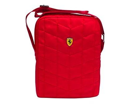 43f1c940cdf4 Ferrari Unisex Polyester Red Sling Bag (11 x 8 x 1 Inch)  Ferrari   Amazon.in  Bags
