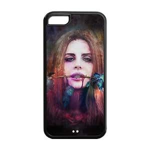 XiFu*MeiCustomiz American Famous Singer Lana Del Rey Back Case for ipod touch 5 JN5C-1636XiFu*Mei