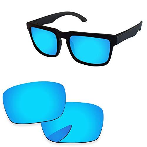 PapaViva Lenses Replacement for Spy Optic Helm Ice Blue - Polarized (Helm Lenses Spy)