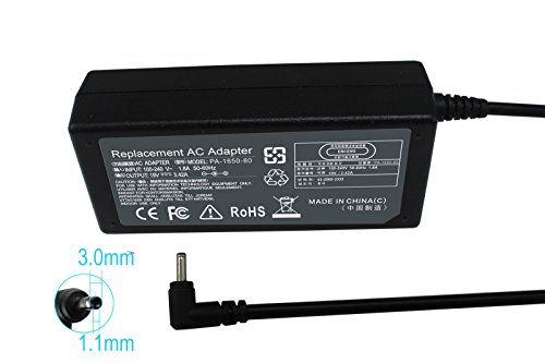 Gomarty AC Power Adapter Charger for Acer Chromebook 13 C810 CB5 14 CB3-431 15 C910 C720 C720P C720-2848,Aspire S5 S7 S5-371 S7-392 S7-393 PA-1650-80 A11-065N1A A13-045N2A PA-1450-26 Power Supply