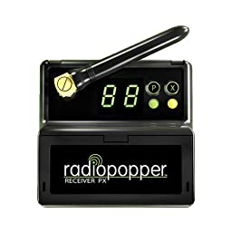 RadioPopper PX-RC Receiver with Canon Mounting Bracket (Black)
