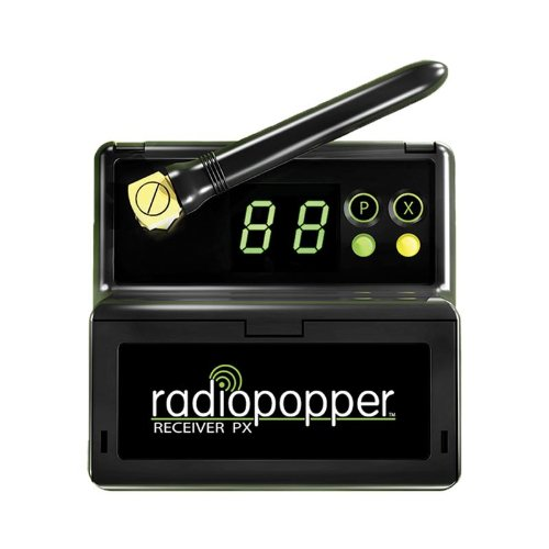 RadioPopper PX-RC Receiver with Canon Mounting Bracket (Black) by RadioPopper