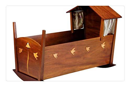 Tree26 Indoor Floor Rug/Mat (23.6 x 15.7 Inch) - Cradle Furniture Baby Bed Mahogany Maple