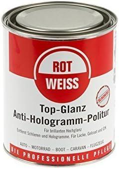 Rotweiss Rot Weiss 1500 Top Glanz Politur 750ml Auto