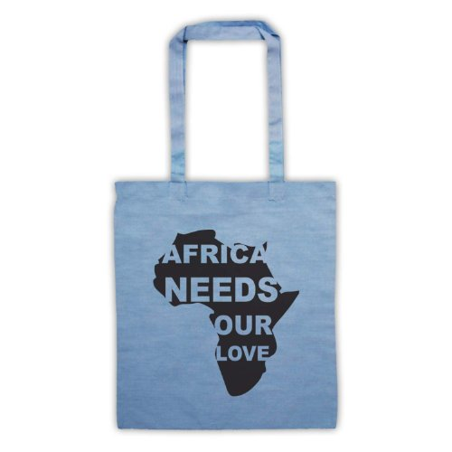 Protest Bag Blue Sky Tote Love Our Slogan Africa Needs UwqBxYt