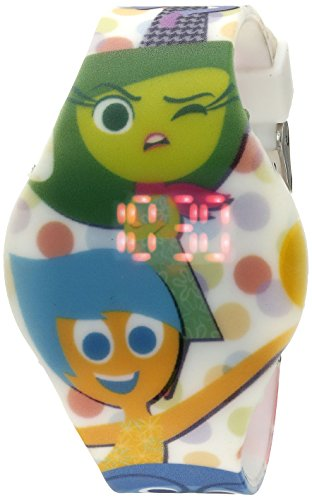 Disney Kids' INS3001 Digital Display Quartz Multi-Color Watch