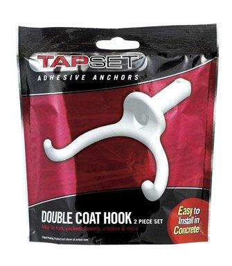 2PK Double Coat Hook
