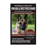 Dave'S Pet Food Natural Health Pork Sweet Potato Dog Food, 4 Lb